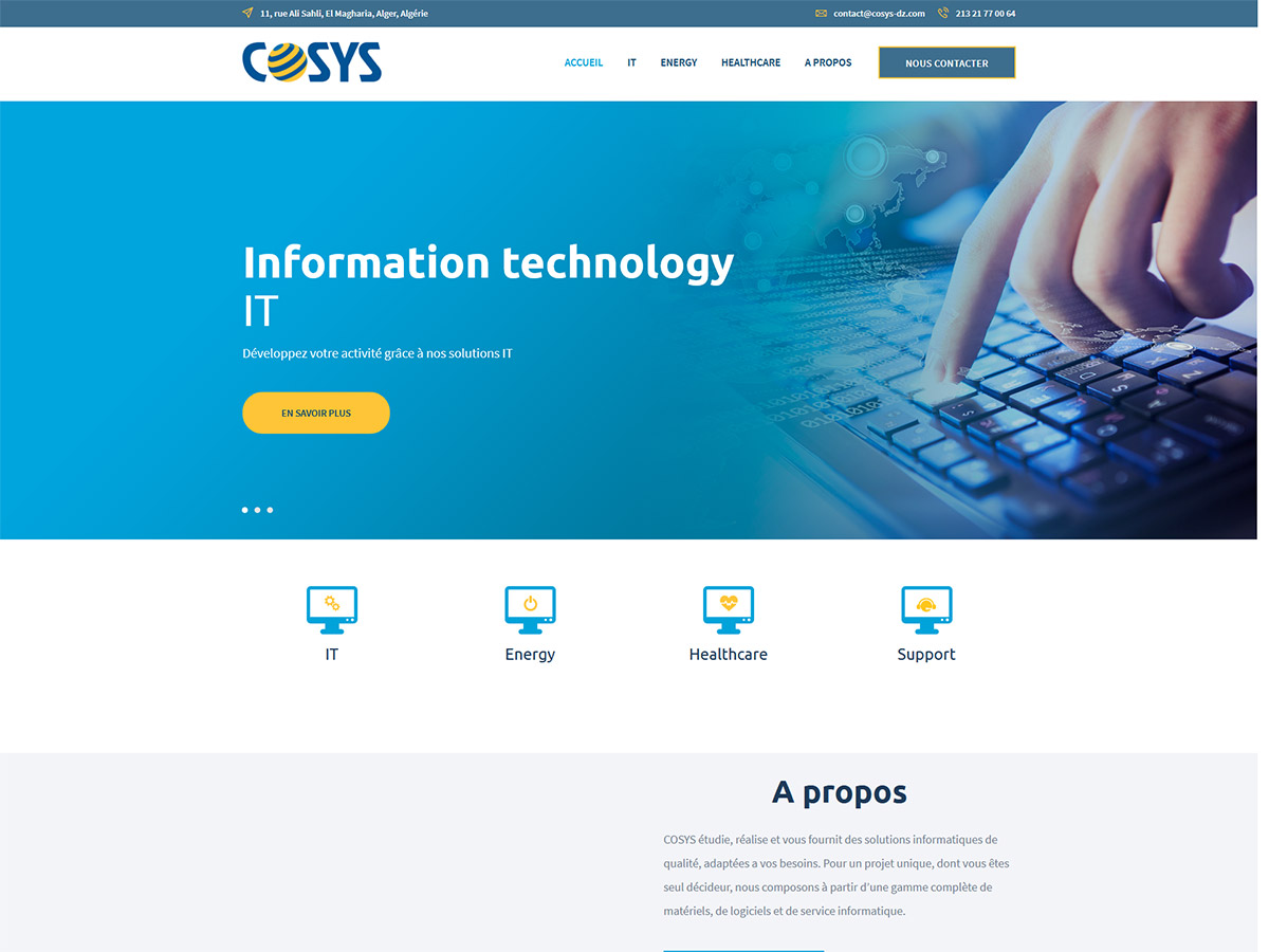 Site Web Cosys